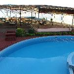 THE POOL AREA AND CHINEESE RESTAURANT
