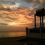 sunset at chivas