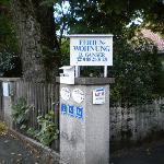 Entrance to Ganser Ferienwohnung