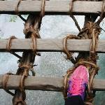 橋の上から撮影