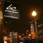 bc on Fayette Street in Armory Square, Syracuse