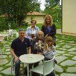 Sabrina,Maurizio,Morena,Gimo e Nonna Vanda