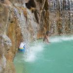 """The pool """"waterfalls"""""""