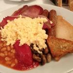The ample cooked breakfast