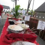 The Luau Food