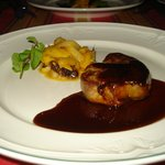 Foie Gras with Balsamic Sauce