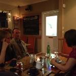 cricket dinner at Gloria's!