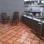 balcony at Granada Melia