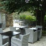 Patio for dining or drinks