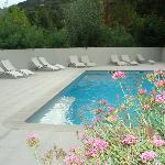 Beautiful pool - just too cool to use