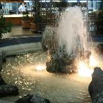Fountain at Self Service Restaurant