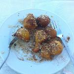 breakfast fried honey and sesame?
