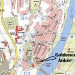 Lage in der Altstadt und Weserufer