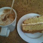 coffe and cake!