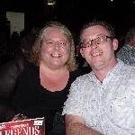 Mark  and Suzanne enjoying The Legends Show  Sept 2012