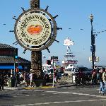 The famous Fisherman`s wharf