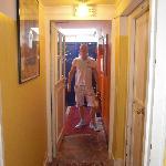 Hotel Eldorado corridor