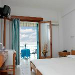 Our double room with sea view