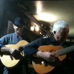 Talented Canarian musicians.