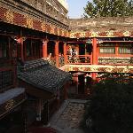 courtyard calm