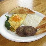 Custom Omelettes.  Come enjoy Breakfast every Friday and Saturday.