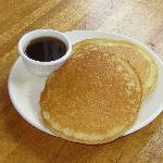 Homemade Pancakes.  Come enjoy Breakfast every Friday and Saturday.