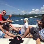 Boat trip - 100% relaxing and drinking rum