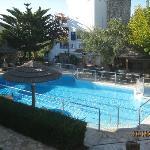 Paris Village swimming pool
