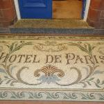 Entrance mosaic