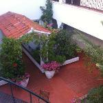 Petite terrasse au deuxième étage