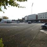 Very large car park
