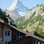view of the Klein Matterhorn