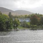 View of Kenmare Lodge from across the bridge
