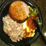 Real breakfast w/ corned beef hash.