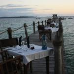 Dinner on the Jetty