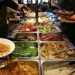 International buffet eat as much as you can