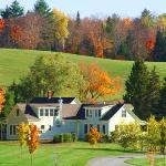 Fall Foliage at the Stepping Stone Spa and Bed & Breakfast