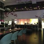 Modern lounge style dining hall