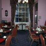 View from Parlor to Dining area