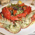 Whole Lobster with garlic butter sauce