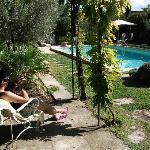 Chillen am Pool