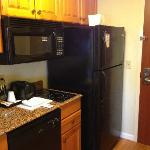 kitchen appliances complete with full size fridge and Ice Maker