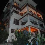 Villa Kristina vom Pool aus