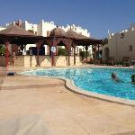 The VIP pool