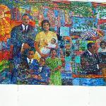 Mural outside MLK Memorial Centre