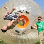 ZORB knows how to have fun!