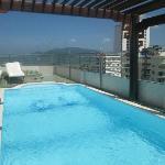 Nice Swan Hotel 9th floor swimming pool
