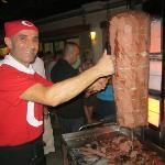 Kepab lors de la soirée Turque