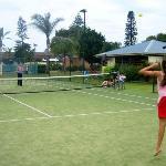 Seashells Tennis Court