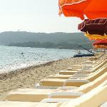 Aqua Club à Ramatuelle : la plage